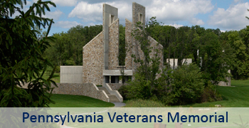 Pennsylvania Veterans Memorial Main Page Graphic