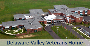 Delaware Valley Veterans' Home Main Page Graphic