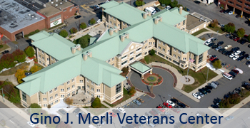 Gino J. Merli Veterans' Center Home Main Page Graphic