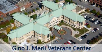 Gino J. Merli Veterans' Center Home Main Page Graphic