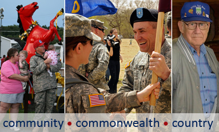 Community, Commonwealth, Country - Main Page Graphic