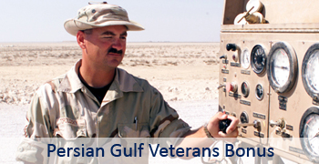 Persian Gulf Veterans Bonus Main Page Graphic