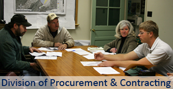 Procurement & Contracting Main Page Graphic