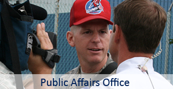 Public Affairs Office Main Page Graphic
